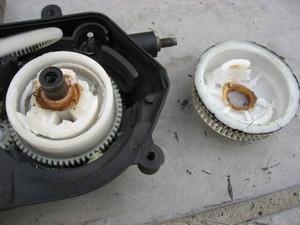Dismantled sring mechanism