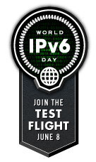 World IPv6 Day Logo